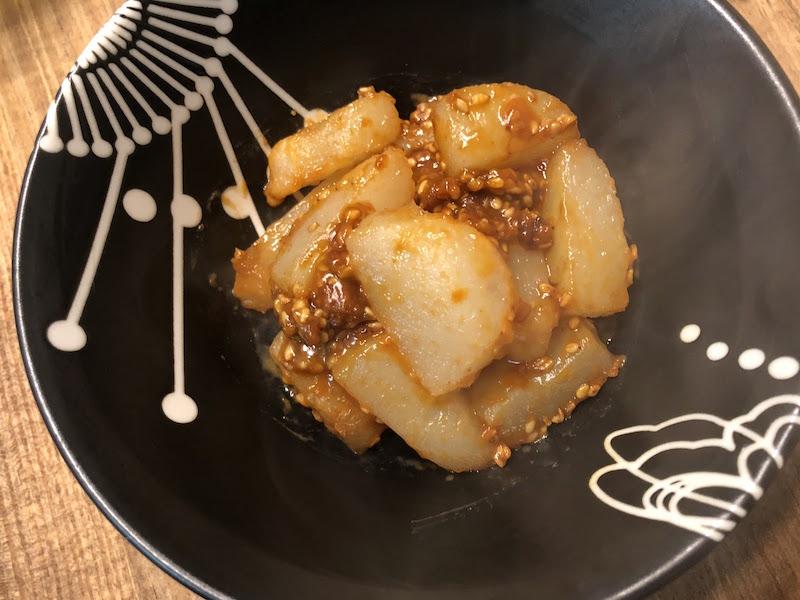 韓国風辛味噌チーズこんにゃく